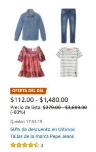 Amazon Oferta Pepe Jeans