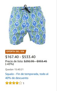 Amazon Oferta Ropa Squalo