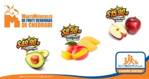 Chedraui Ofertas Frutas y Verduras