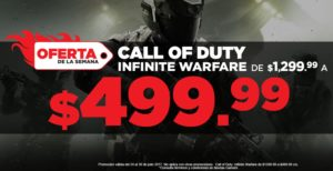 Gamers Oferta Call of Duty Infinite Warfare