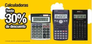 OfficeMax Oferta Calculadoras Seleccionadas