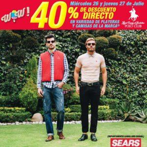 Sears Oferta Camisas y Playeras Polo Club