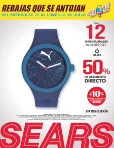 Sears Oferta Relojería