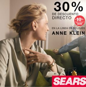 Sears Oferta Relojes Anne Klein