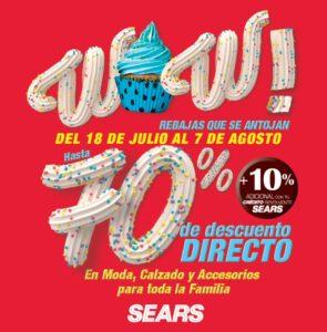 Sears Rebajas de Verano 2017