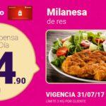 Soriana Oferta Milanesa de Res Julio 31