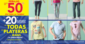 Suburbia Oferta de Playeras y Jeans