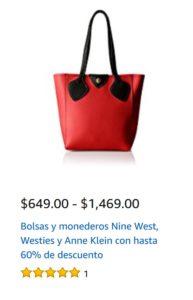 Amazon Oferta Bolsas y Monederos, Westies, Nine West y Anne Klein