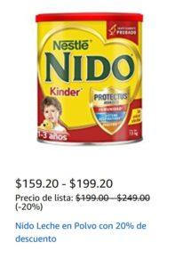 Amazon Oferta de Leche Nido