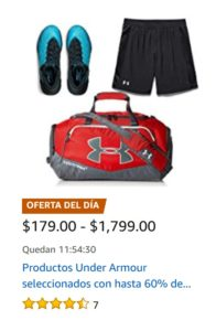 Amazon Oferta Under Armour Agoso 28
