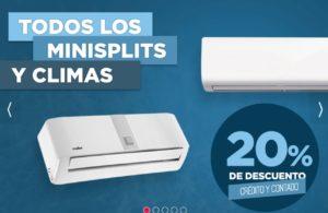 Famsa Oferta de MiniSplits y Climas