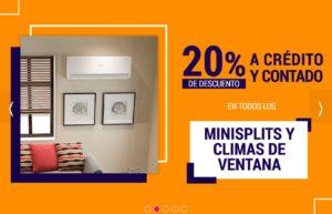 Famsa Oferta Minisplits y Climas de Ventana