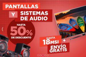 Famsa Oferta de Pantallas y Sistemas de Audio