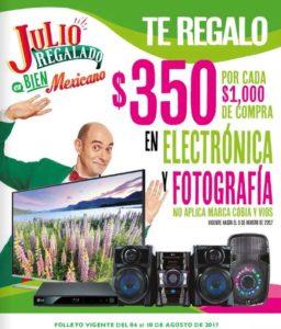 Julio Regalado 2017 Folleto de Ofertas Agosto 8