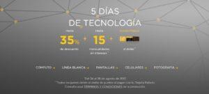 El Palacio de Hierro 5 Días de Tecnología Agosto 24
