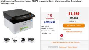 PC en Línea Oferta Multifuncional Samsung