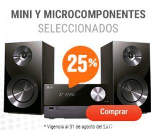 RadioShack Oferta Mini y Microcoomponentes