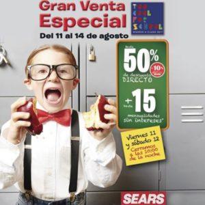 Sears Gran Venta Especial