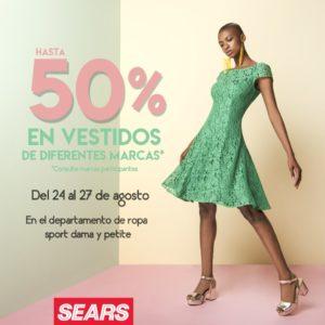 Sears Oferta de Vestidos de Marcas Seleccionadas