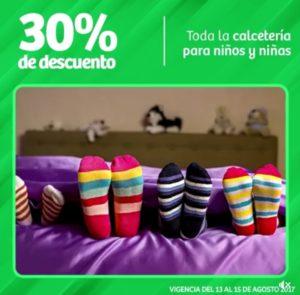 Soriana Oferta de Calcetería para Niños