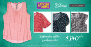 Suburbia Oferta Blusa La Mode