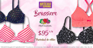 Suburbia Oferta Brassiere Fruit of the Loom