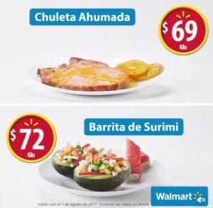 Walmart Ofertas Martes de Frescura Agosto 1