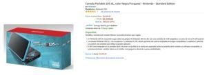 Amazon Oferta Nintendo 2DS XL