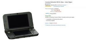 Amazon Oferta de 3DS XL Negro