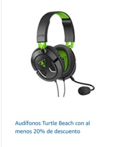 Amazon Oferta Audífonos Turtle Beach