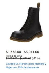 Amazon Oferta Calzado Dr. Martens
