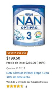 Amazon Oferta Nan Etapa 3