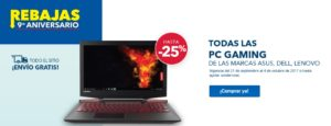 Best Buy Oferta PC's Gamers Lenovo, Asus y Dell
