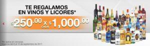 Comercial Mexicana oferta Vinos y Licores Septiembre 8