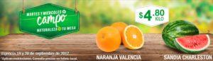 Comercial Mexicana Ofertas Martes y Miércoles del Campo Septiembre 19