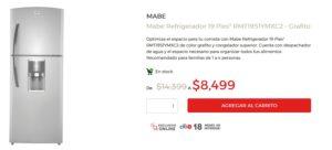 Elektra Oferta de Refrigerado Mabe