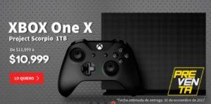 Elektra Oferta Xbox One Scorpio