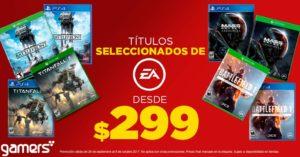Gamers Oferta Juegos Seleccionados EA