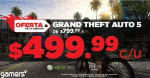 Gamers Oferta Grand Theft Auto 5