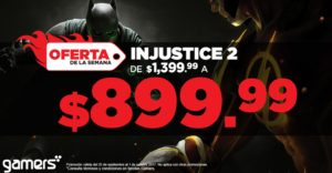 Gamers Oferta Injustice 2 Xbox One y PS4