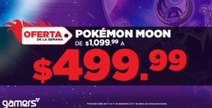 Gamers Oferta Pokemon Moon