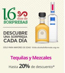 Liverpool Oferta Tequilas y Mezcales