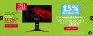 Office Depot Oferta Monitores y Computadoras Gamer Acer