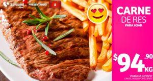Soriana Oferta de Carne de Res Septiembre 2
