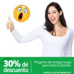 Soriana Ofeta de Playeras de Manga Larga