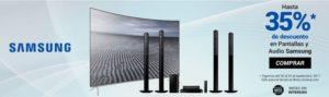 Soriana Oferta de Pantallas y Audio Samsung