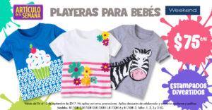 Suburbia Oferta de Playeras para Bebé