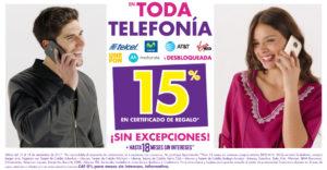 Suburbia Oferta de Telefonía Septiembre 15