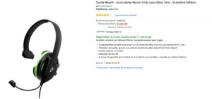 Amazon Oferta Auriculares Turtle Beach