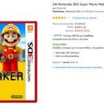 Amazon Oferta Mario Maker 3DS